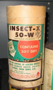 DDT found in a storage room. How old is this?