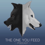 Logo for The One You Feed podcast.