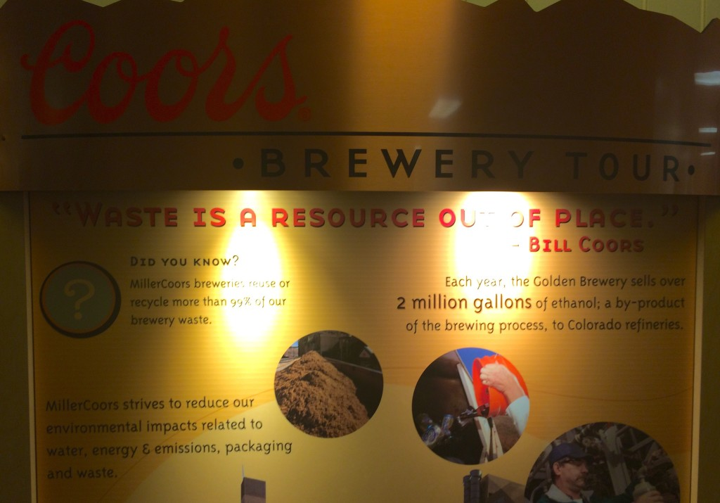 Coors Brewery Sign